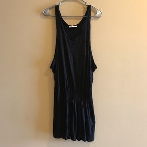 7FAM Black Tank Dress Size Small
